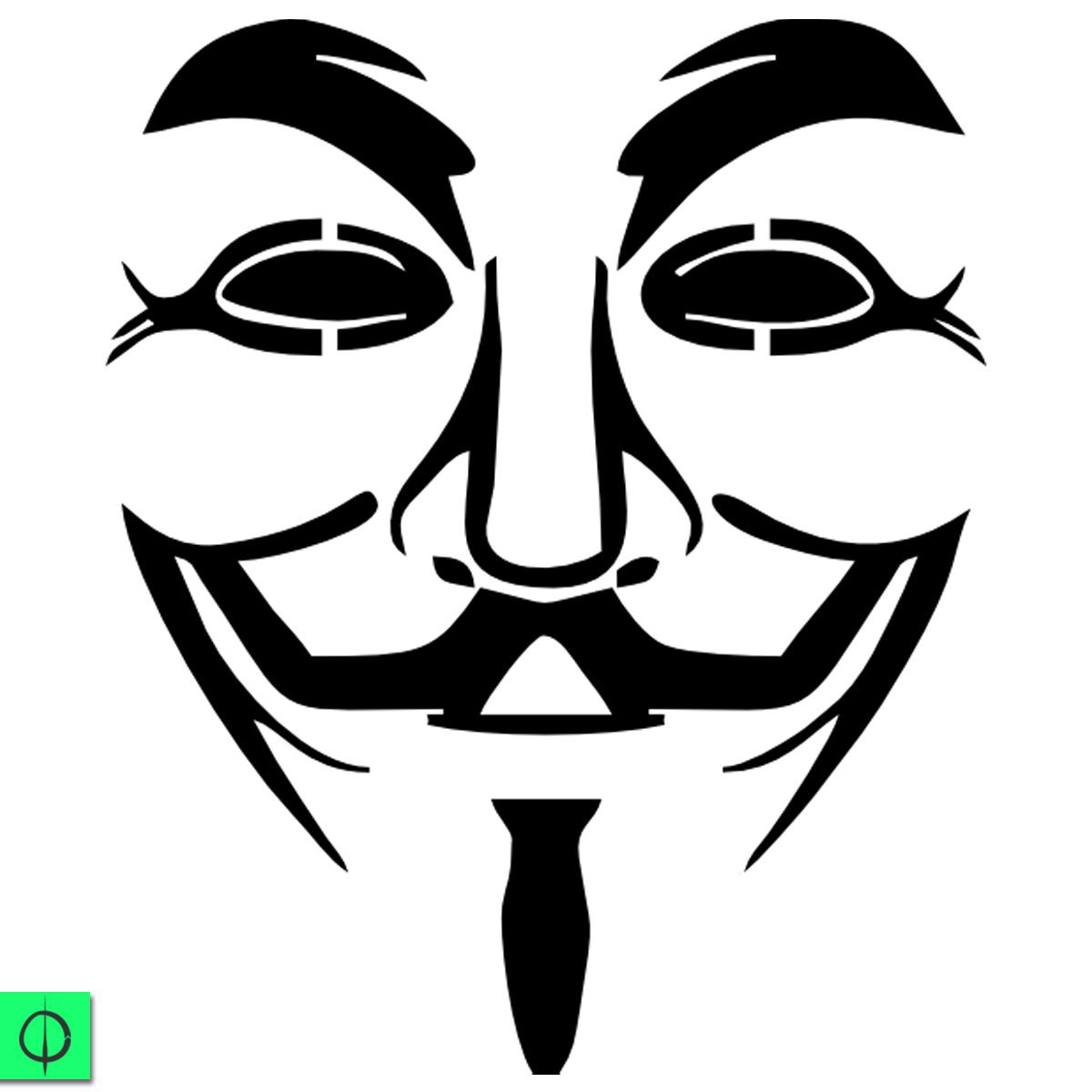 Máscara utilizada pelos Anonymous